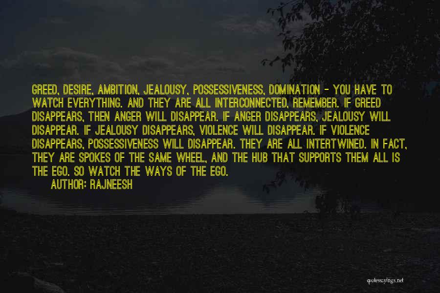 Everything Disappears Quotes By Rajneesh