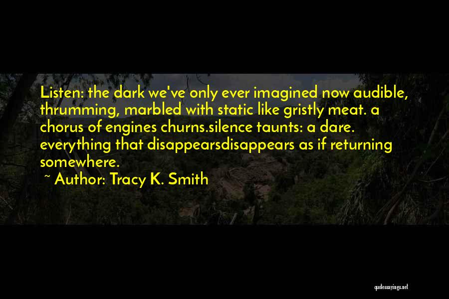 Everything Disappears Quotes By Tracy K. Smith