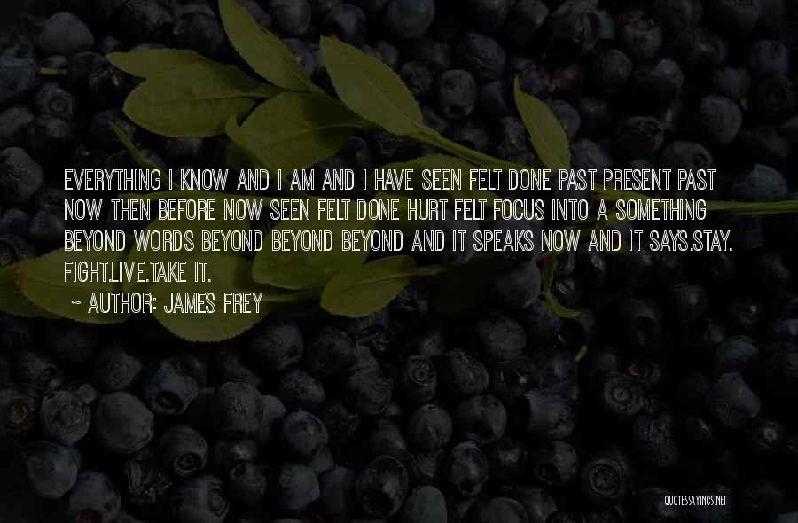 Everything Done Quotes By James Frey