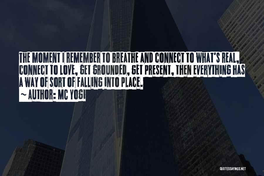 Everything Falling Into Place Quotes By MC Yogi