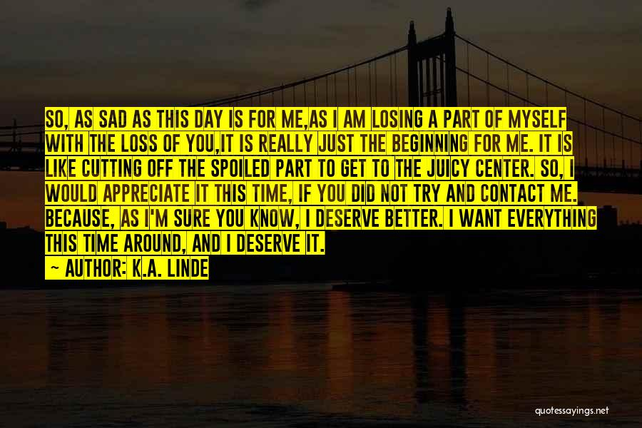 Everything Is Better With You Quotes By K.A. Linde