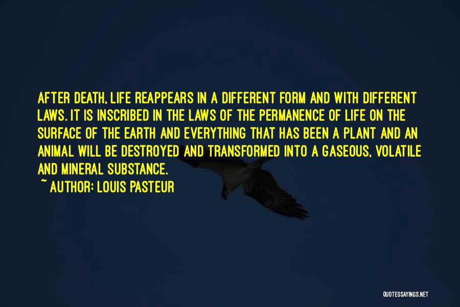 Everything Is Destroyed Quotes By Louis Pasteur