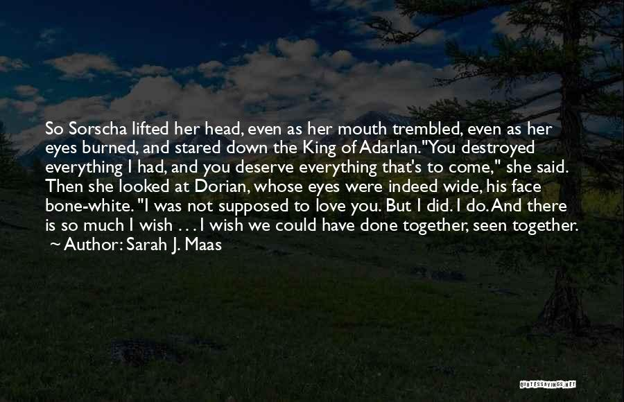 Everything Is Destroyed Quotes By Sarah J. Maas