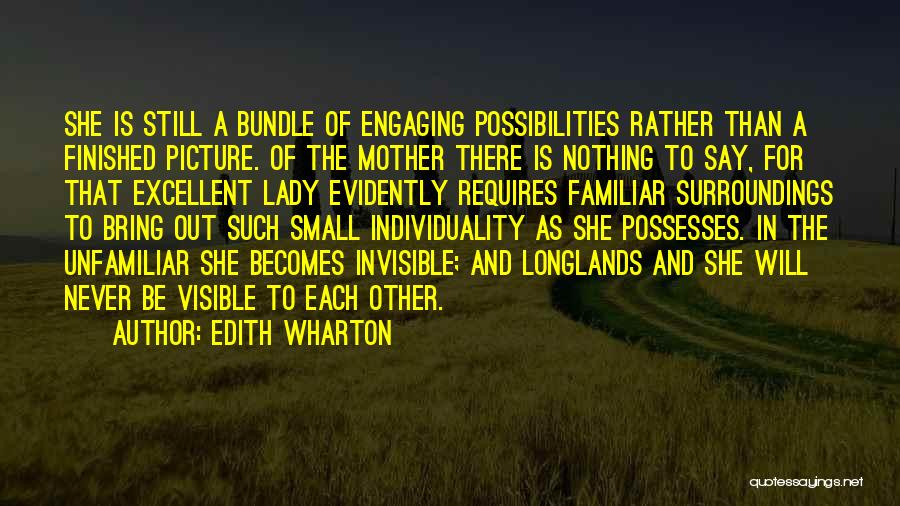 Evidently Quotes By Edith Wharton