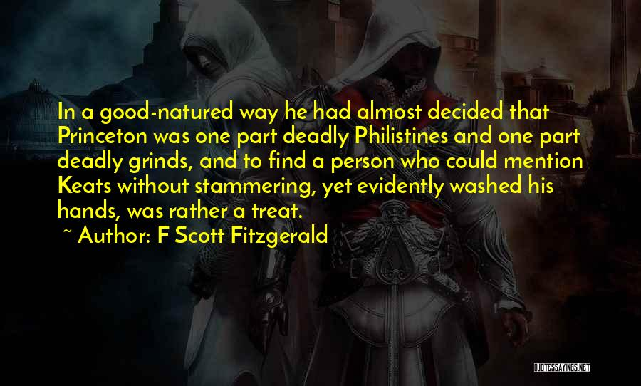 Evidently Quotes By F Scott Fitzgerald