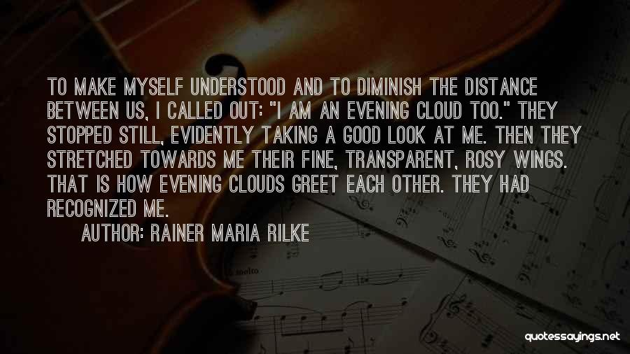 Evidently Quotes By Rainer Maria Rilke