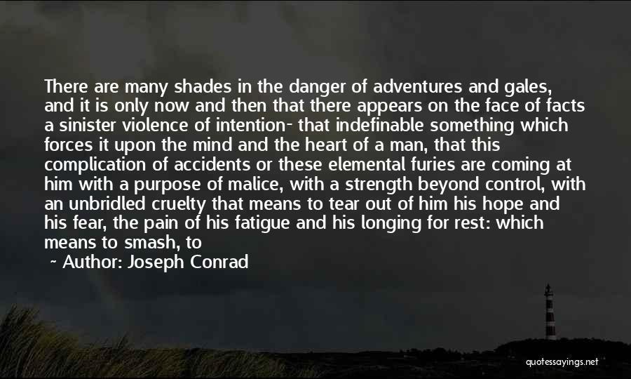 Evil Sinister Quotes By Joseph Conrad