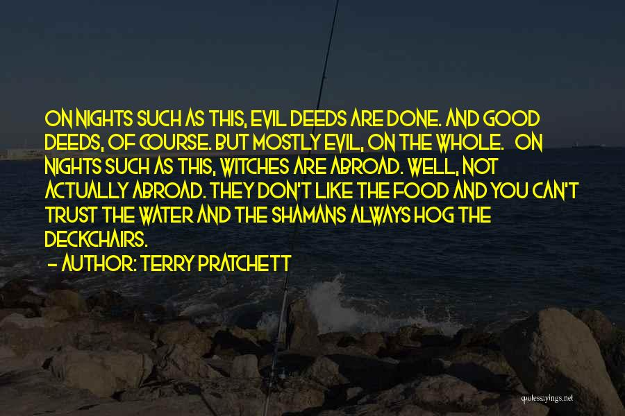 Evil Witches Quotes By Terry Pratchett