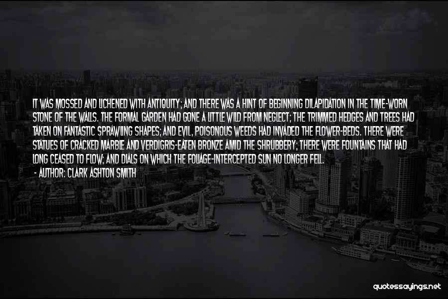 Evil Within Us All Quotes By Clark Ashton Smith