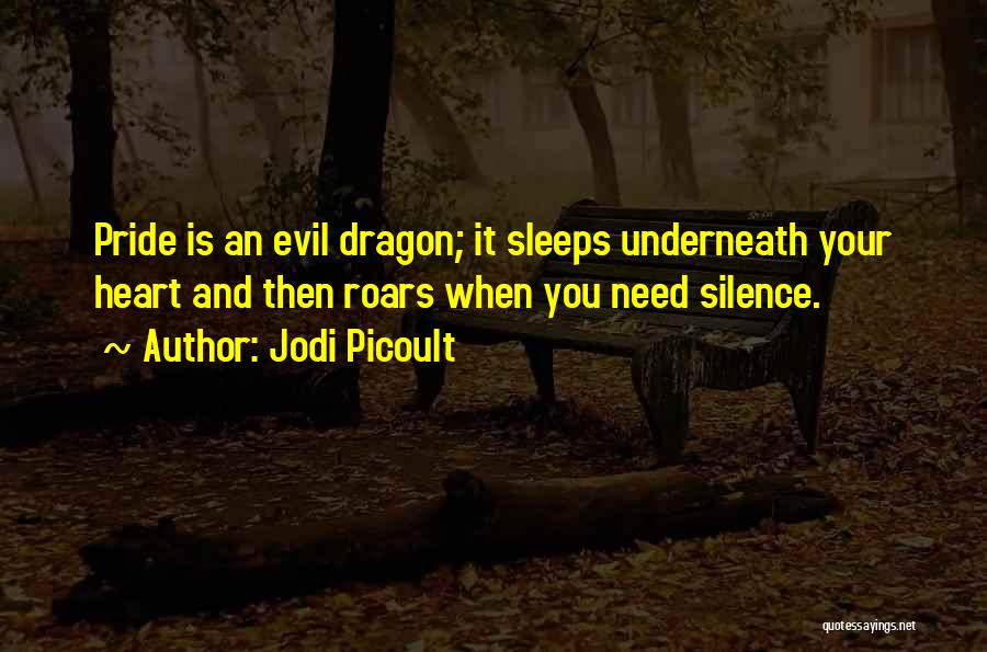 Evil Within Us All Quotes By Jodi Picoult