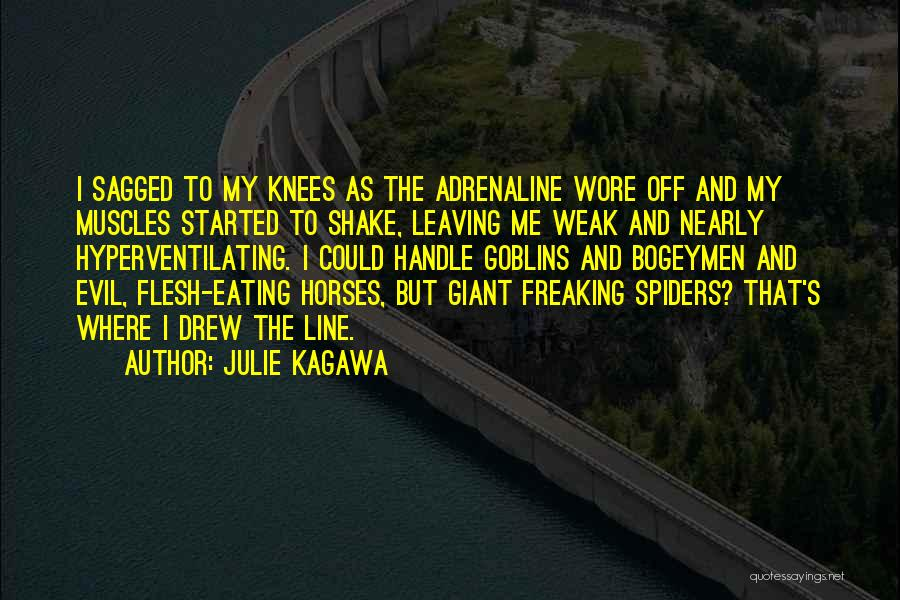 Evil Within Us All Quotes By Julie Kagawa