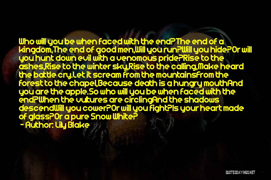 Evil Within Us All Quotes By Lily Blake