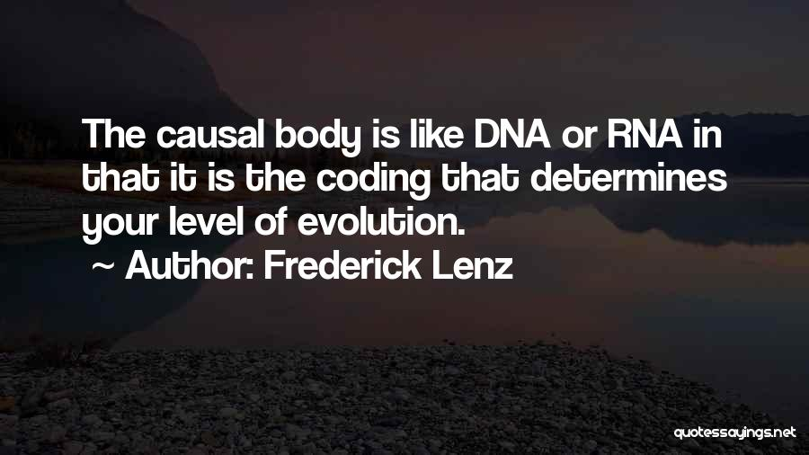 Evolution Quotes By Frederick Lenz
