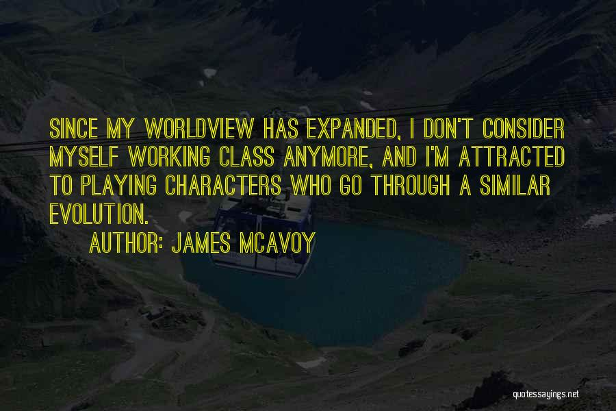 Evolution Quotes By James McAvoy