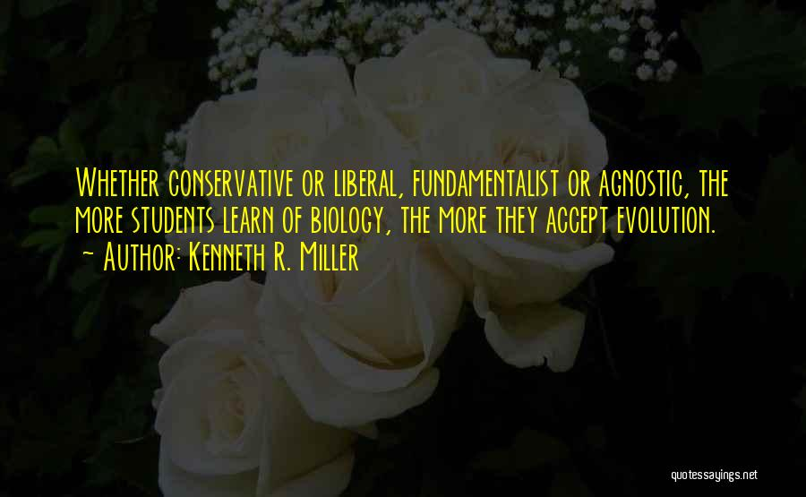 Evolution Quotes By Kenneth R. Miller