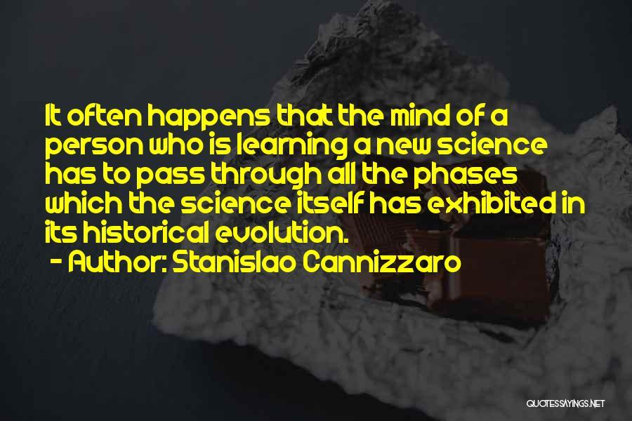 Evolution Quotes By Stanislao Cannizzaro