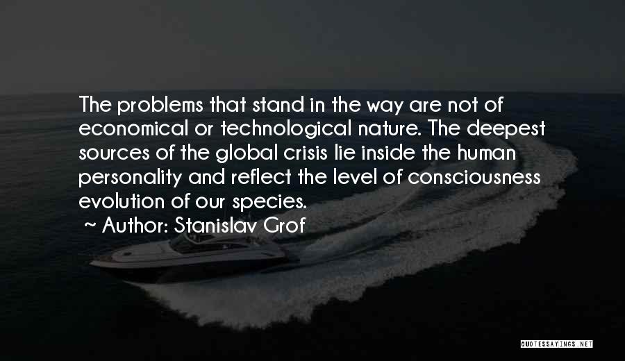 Evolution Quotes By Stanislav Grof