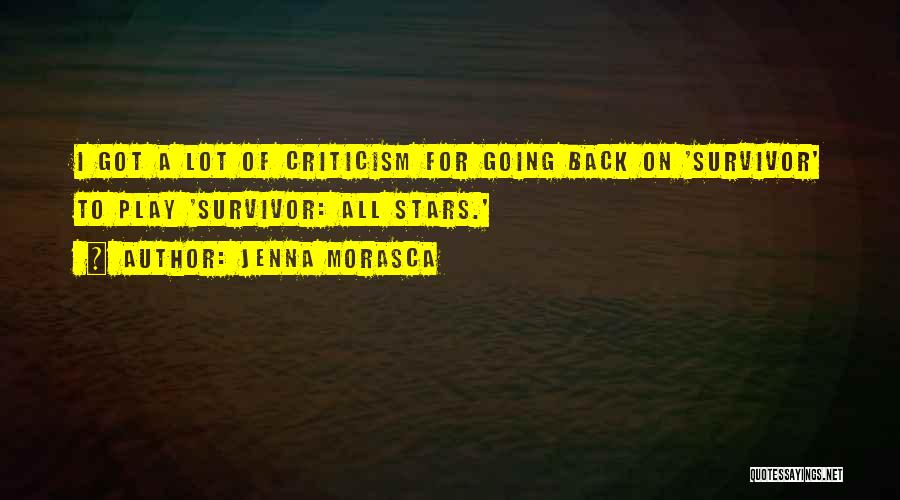 Ex Comes Back Quotes By Jenna Morasca