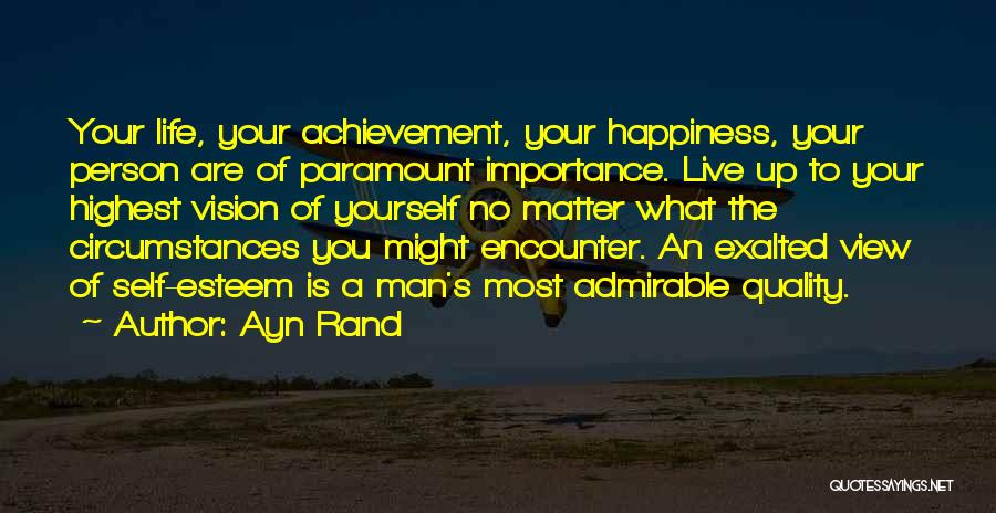 Exalted Quotes By Ayn Rand