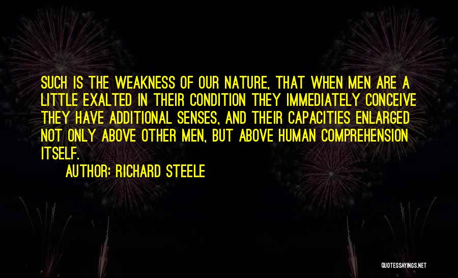 Exalted Quotes By Richard Steele