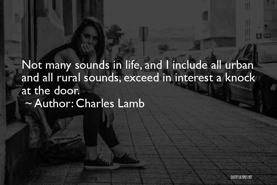 Exceed Quotes By Charles Lamb