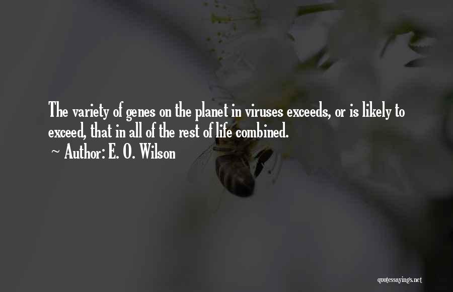 Exceed Quotes By E. O. Wilson