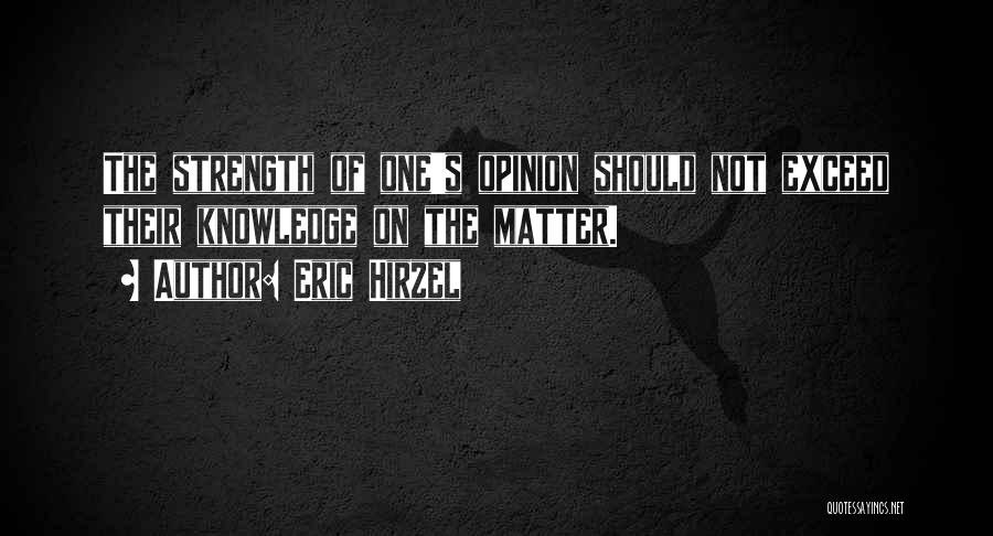Exceed Quotes By Eric Hirzel