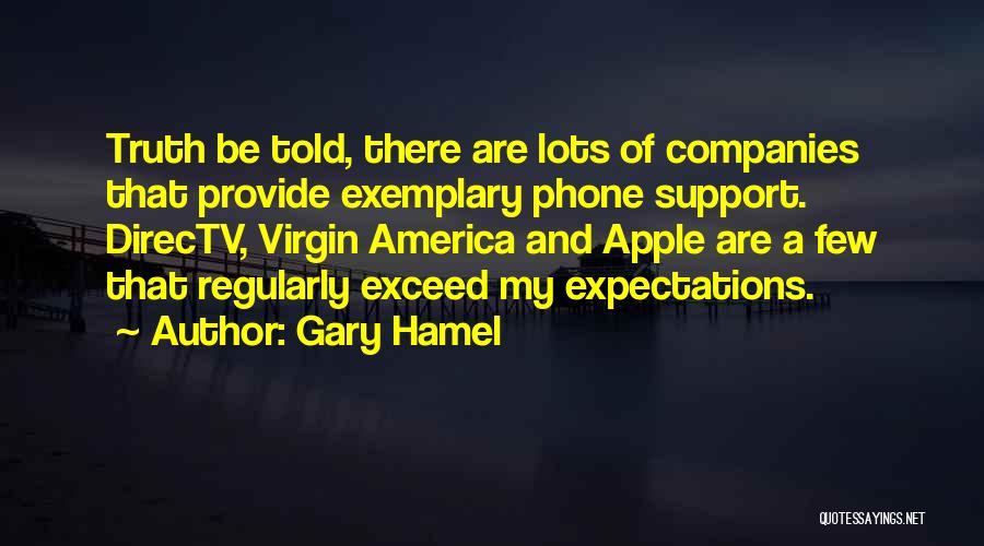 Exceed Quotes By Gary Hamel