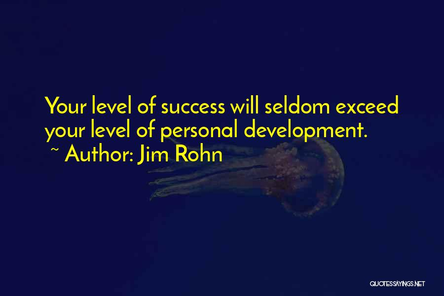 Exceed Quotes By Jim Rohn