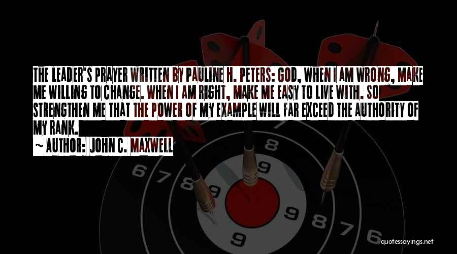 Exceed Quotes By John C. Maxwell
