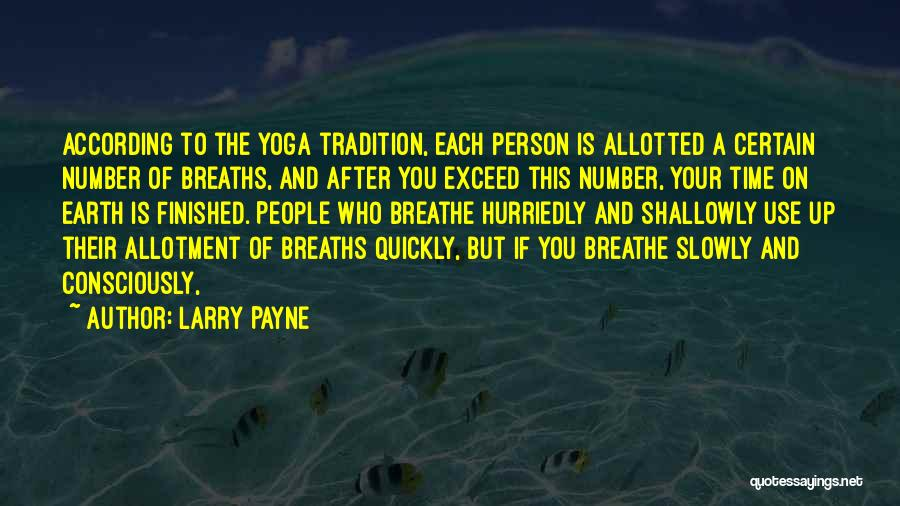 Exceed Quotes By Larry Payne