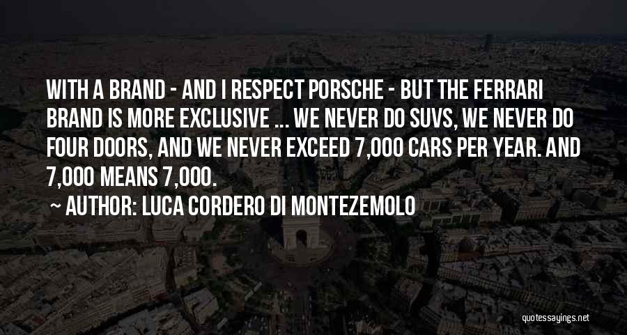 Exceed Quotes By Luca Cordero Di Montezemolo