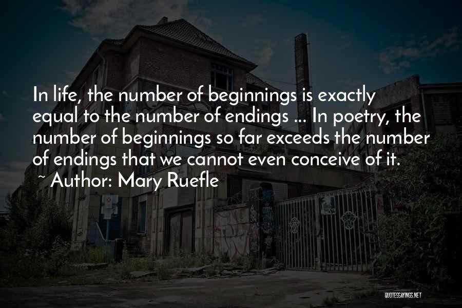 Exceed Quotes By Mary Ruefle