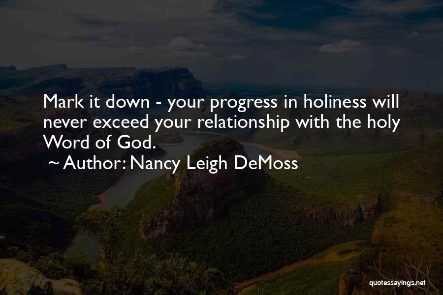 Exceed Quotes By Nancy Leigh DeMoss