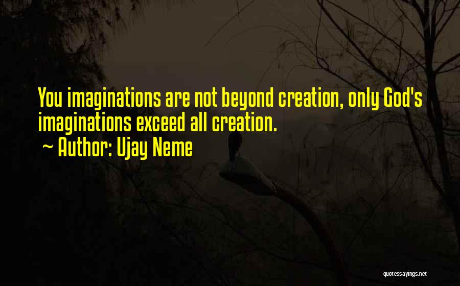Exceed Quotes By Ujay Neme