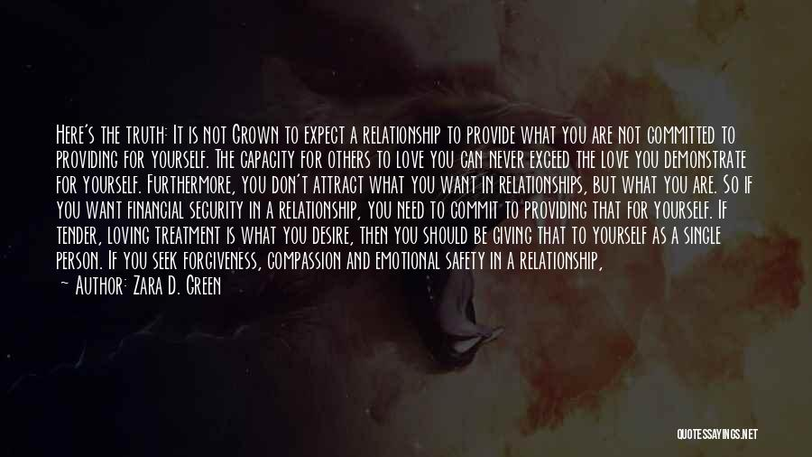 Exceed Quotes By Zara D. Green