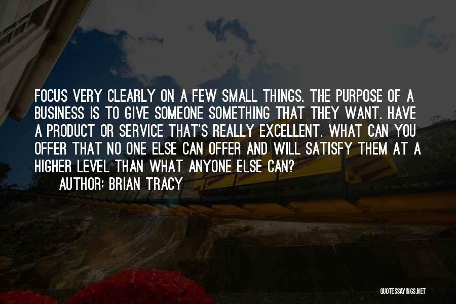 Excellent Service Quotes By Brian Tracy