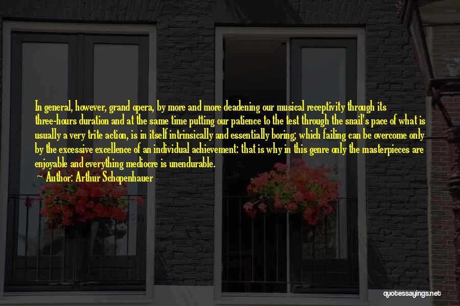 Excessive Quotes By Arthur Schopenhauer