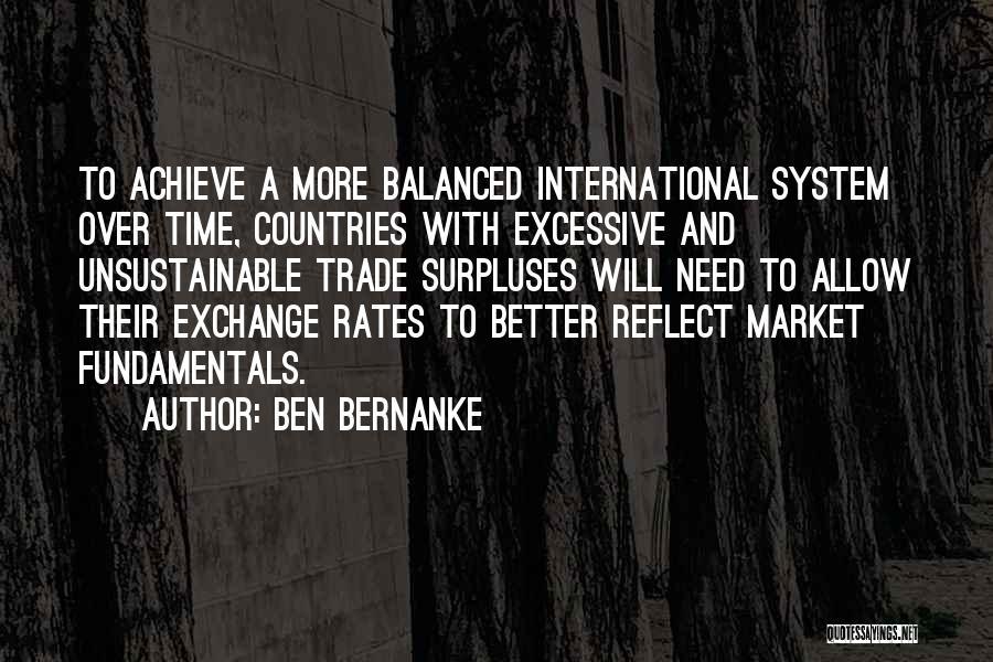 Excessive Quotes By Ben Bernanke