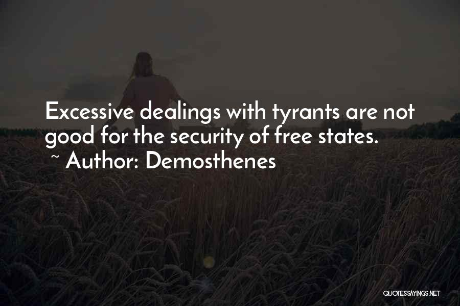 Excessive Quotes By Demosthenes