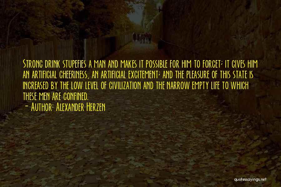 Excitement For Life Quotes By Alexander Herzen