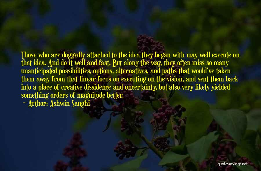 Execute Quotes By Ashwin Sanghi