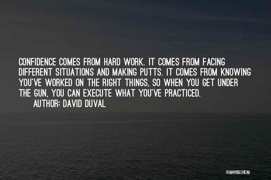 Execute Quotes By David Duval