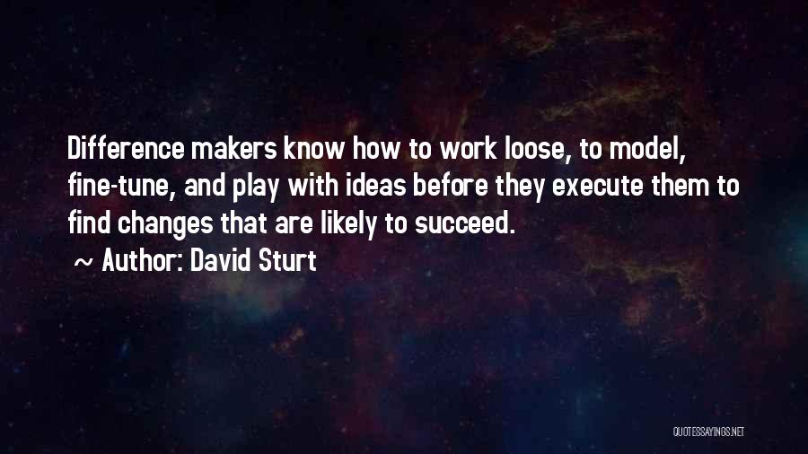 Execute Quotes By David Sturt