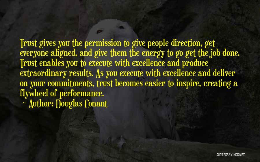 Execute Quotes By Douglas Conant