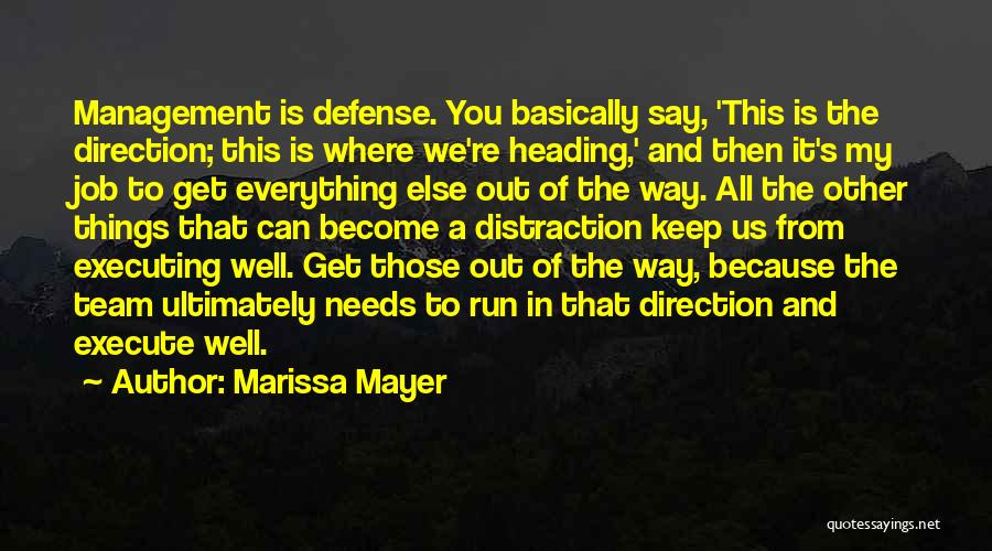 Execute Quotes By Marissa Mayer