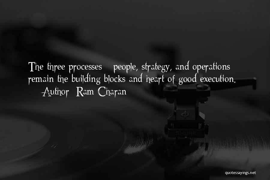 Execution And Strategy Quotes By Ram Charan