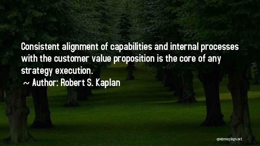 Execution And Strategy Quotes By Robert S. Kaplan