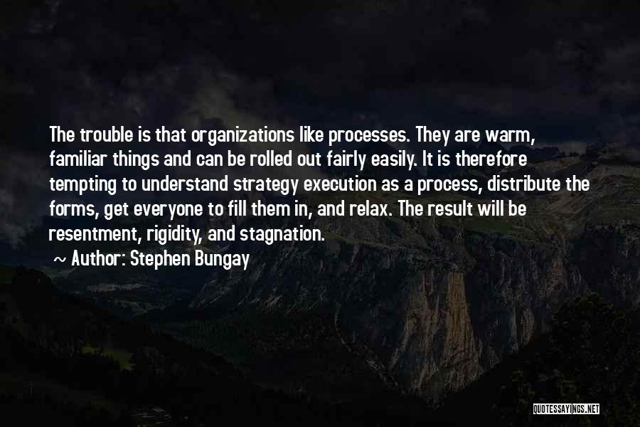 Execution And Strategy Quotes By Stephen Bungay