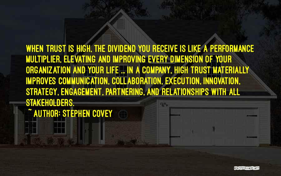 Execution And Strategy Quotes By Stephen Covey